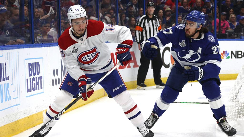 Canadiens not panicking ahead of Game 3 trailing Cup Final to Lightning