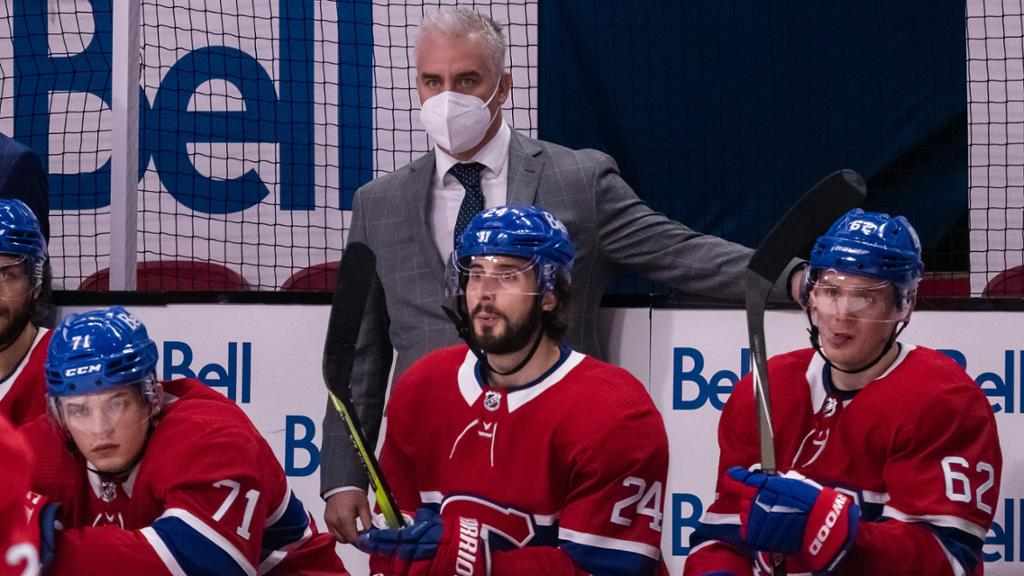 Ducharme coaching Canadiens in Game 3 of Cup Final