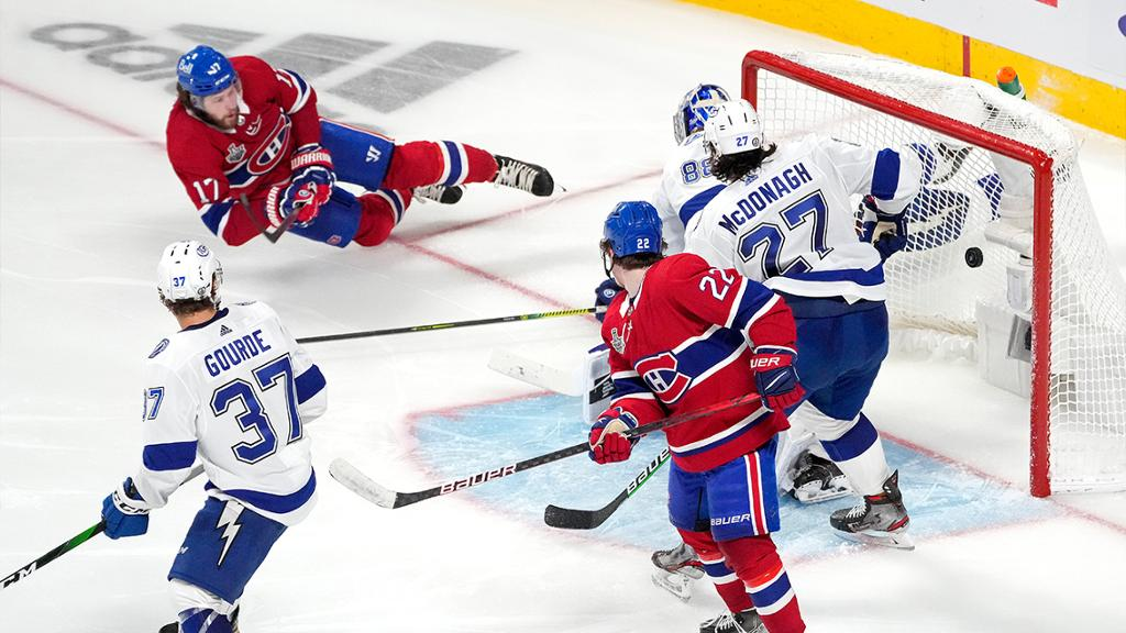 Canadiens defeat Lightning in OT in Game 4 of Cup Final, extend series