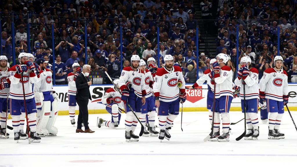 Canadiens lose Stanley Cup Final, playing from behind among reasons