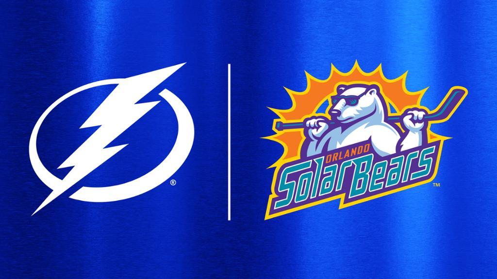 Lightning extend affiliation with ECHL's Orlando Solar Bears | NHL.com