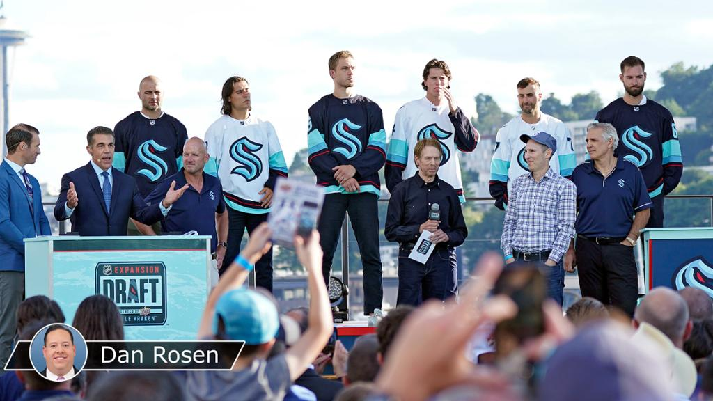 Kraken add leadership, grit at NHL Expansion Draft