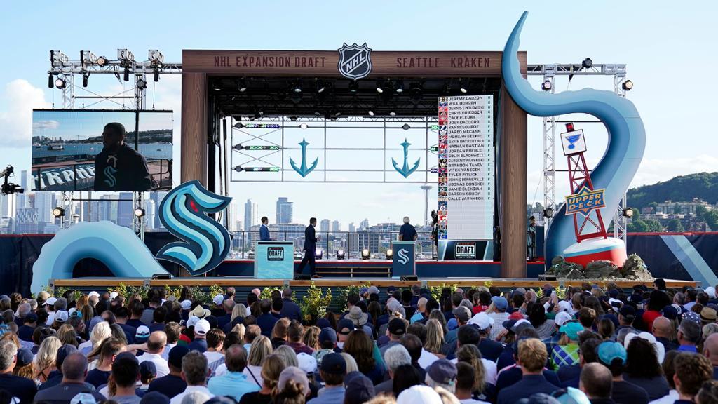 Kraken hold NHL Expansion Draft in Seattle