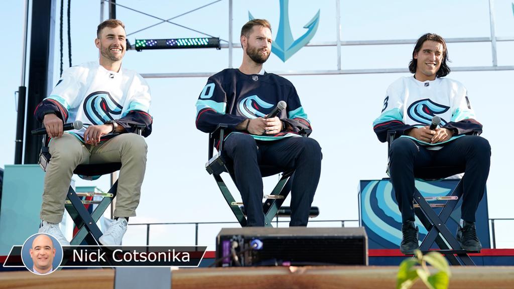 Kraken begin journey to success at NHL Expansion Draft