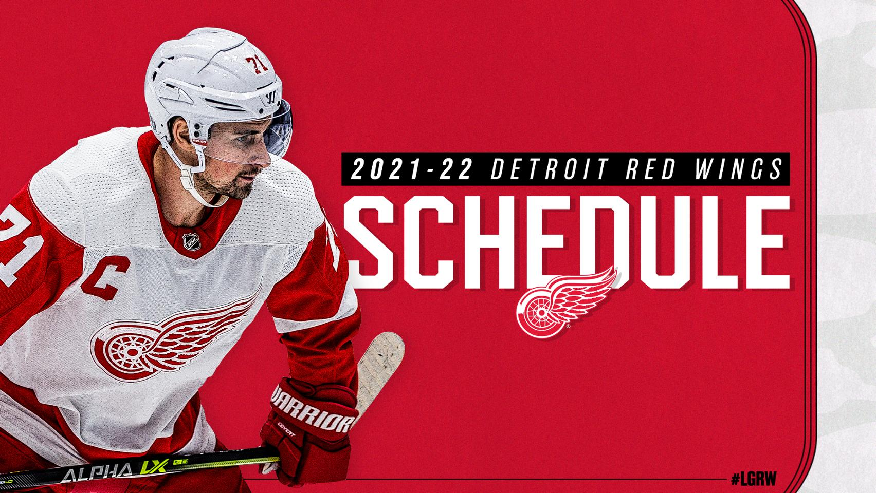 Red Wings Schedule