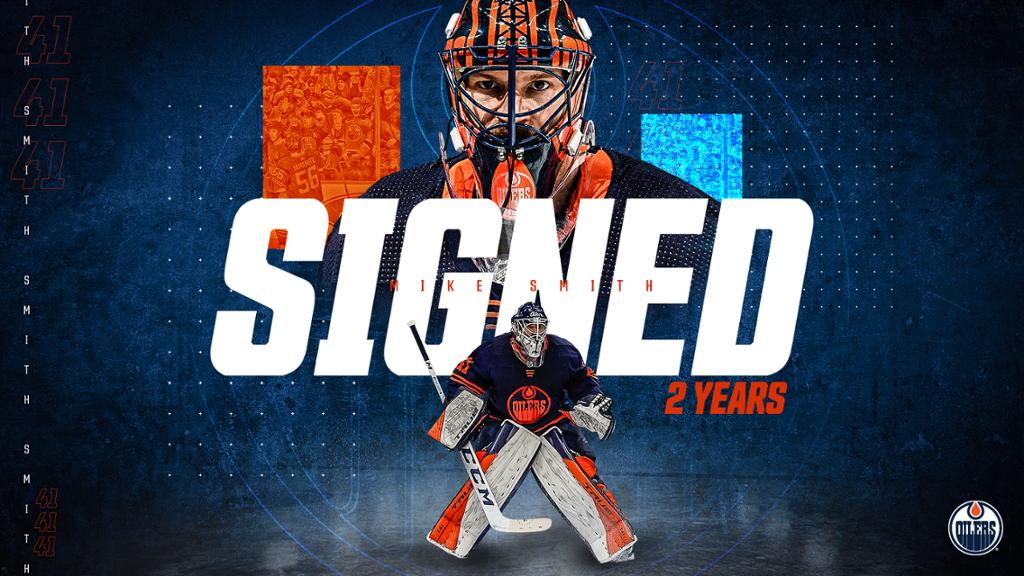 RELEASE: Oilers sign Smith to two-year extension   NHL.com