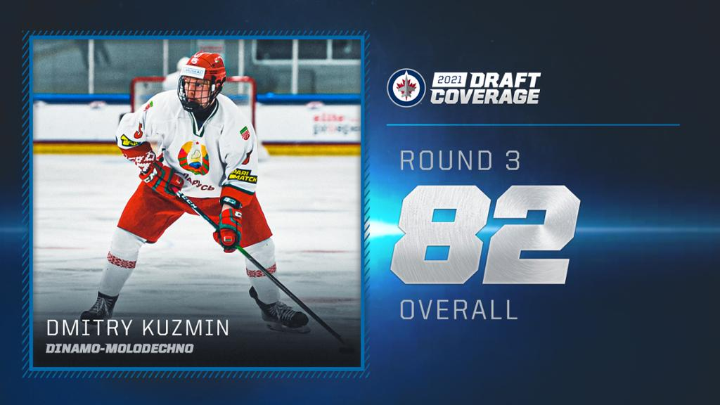 Jets select Kuzmin 82nd overall in the 2021 NHL Draft   NHL.com