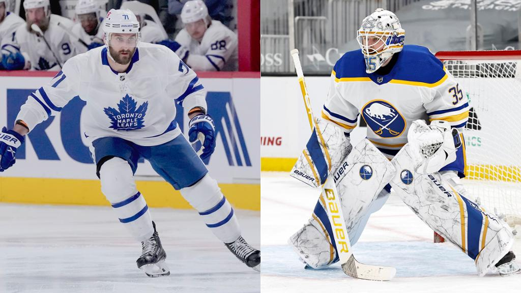 Foligno, Ullmark each sign contract with Bruins