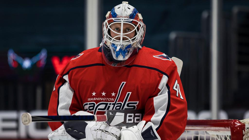 Vanecek traded to Capitals by Kraken, was picked in Expansion Draft