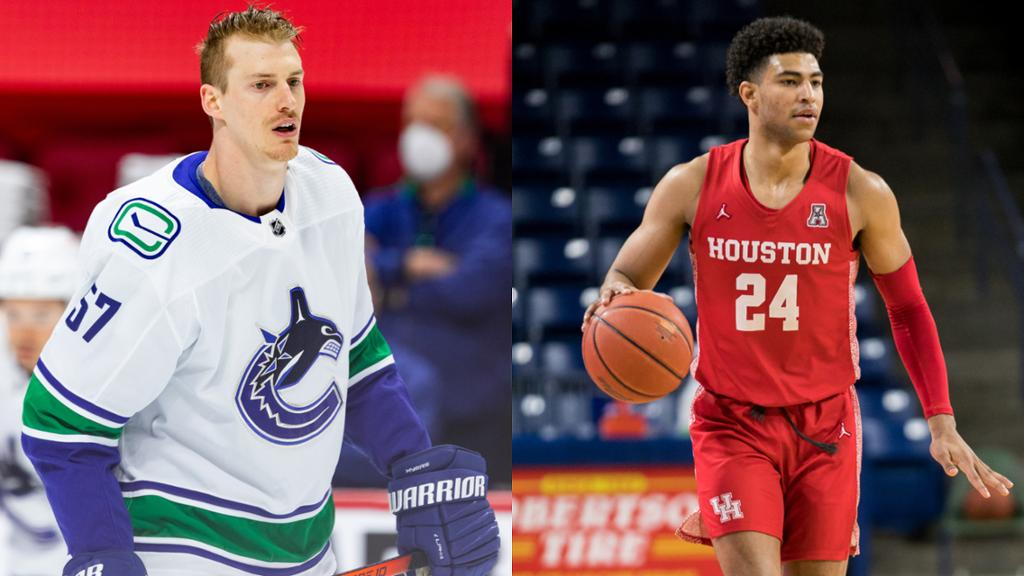 Myers, Grimes set to become first siblings to play in NHL, NBA