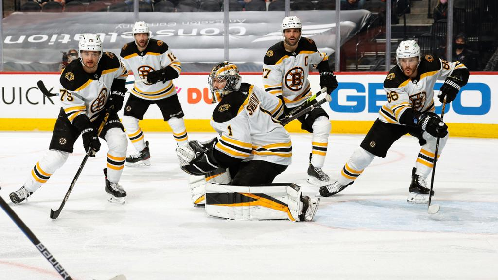 McAvoy excited for new Bruins goalie combo of Swayman, Ullmark