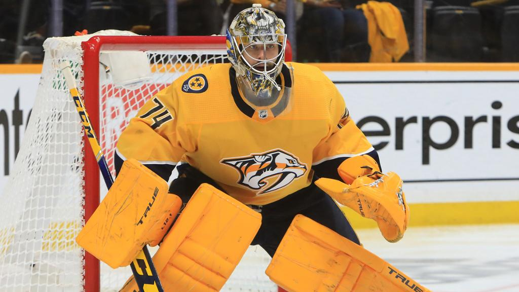 Saros signs four-year contract with Predators, avoids arbitration