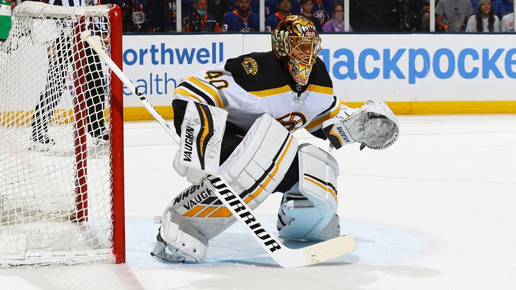 Rask says he would be 'cheap goalie' for Bruins
