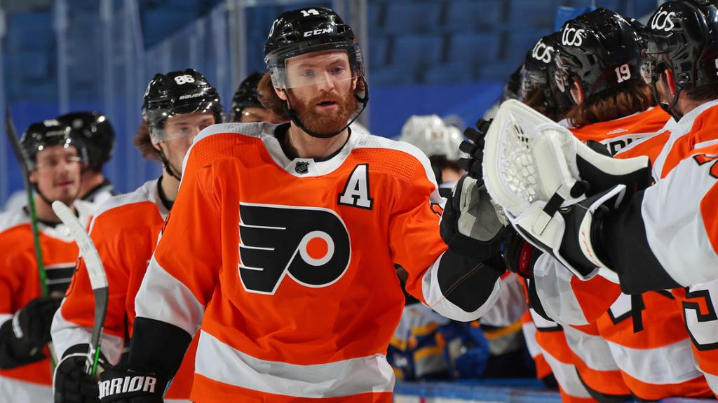 Couturier signs eight-year, $62 million contract extension with Flyers