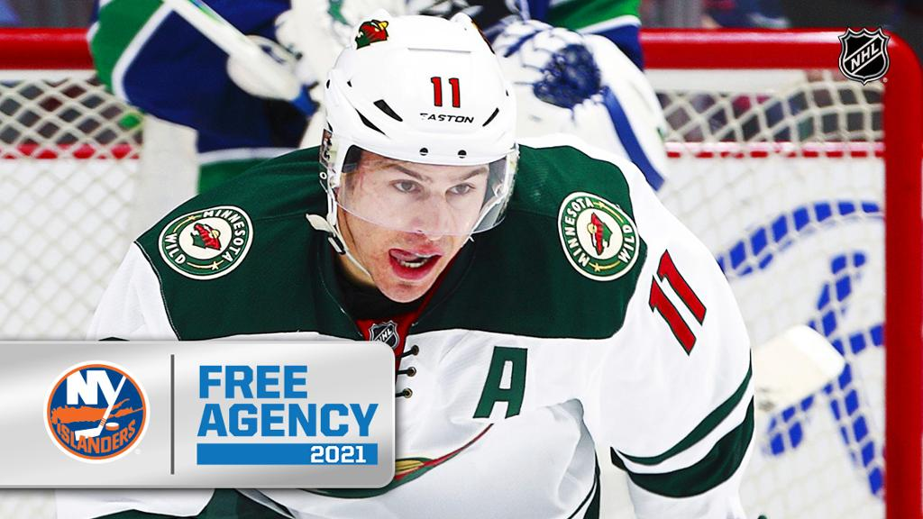 Parise agrees to contract with Islanders, motivated after Wild buyout