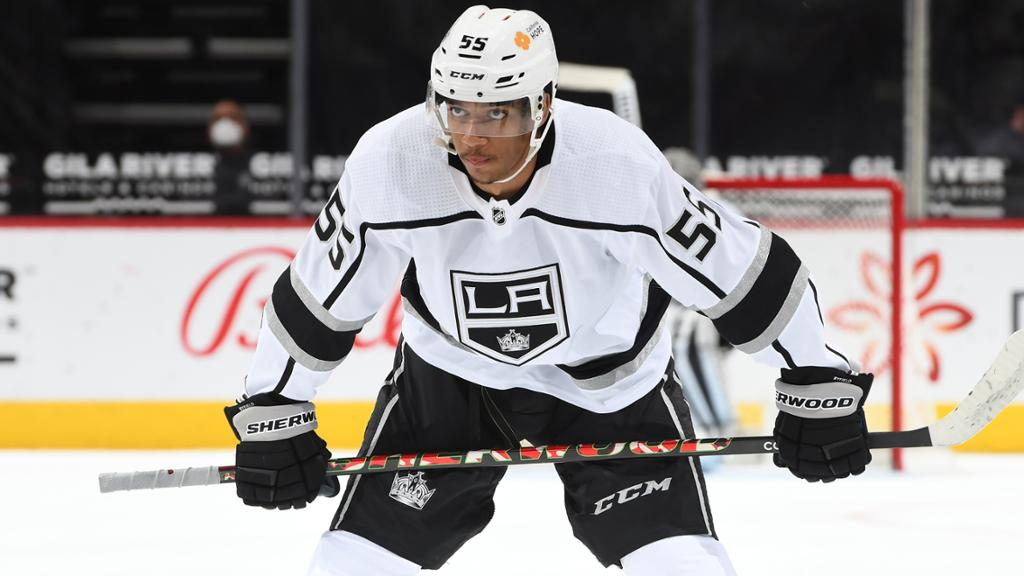 Byfield returns from foot injury for Kings in Rookie Faceoff Tournament