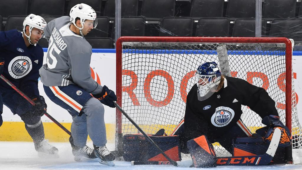 CAMP: Bouchard the 'X-Factor' on Oilers blueline | NHL.com