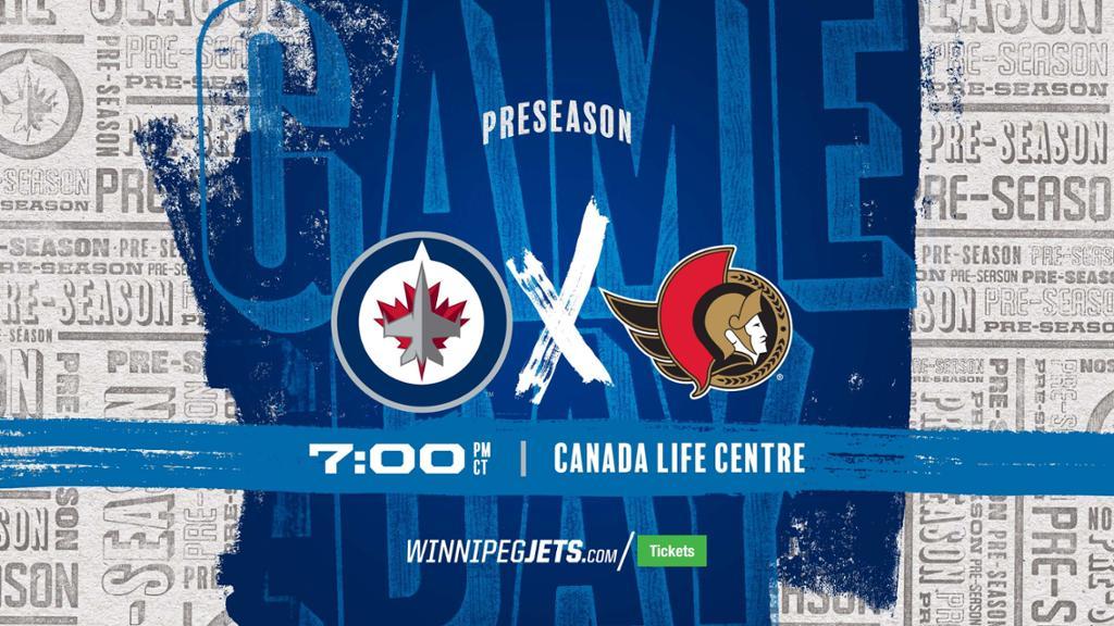 GAMEDAY: Jets vs Senators (Preseason Game 1) | NHL.com