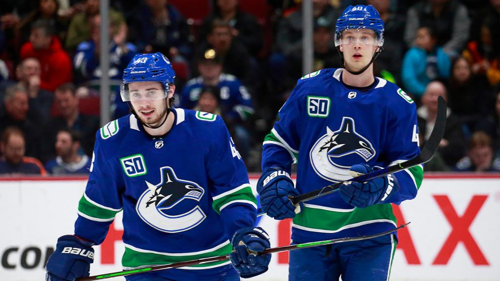 Canucks season preview: Pettersson, Hughes arrival top priority