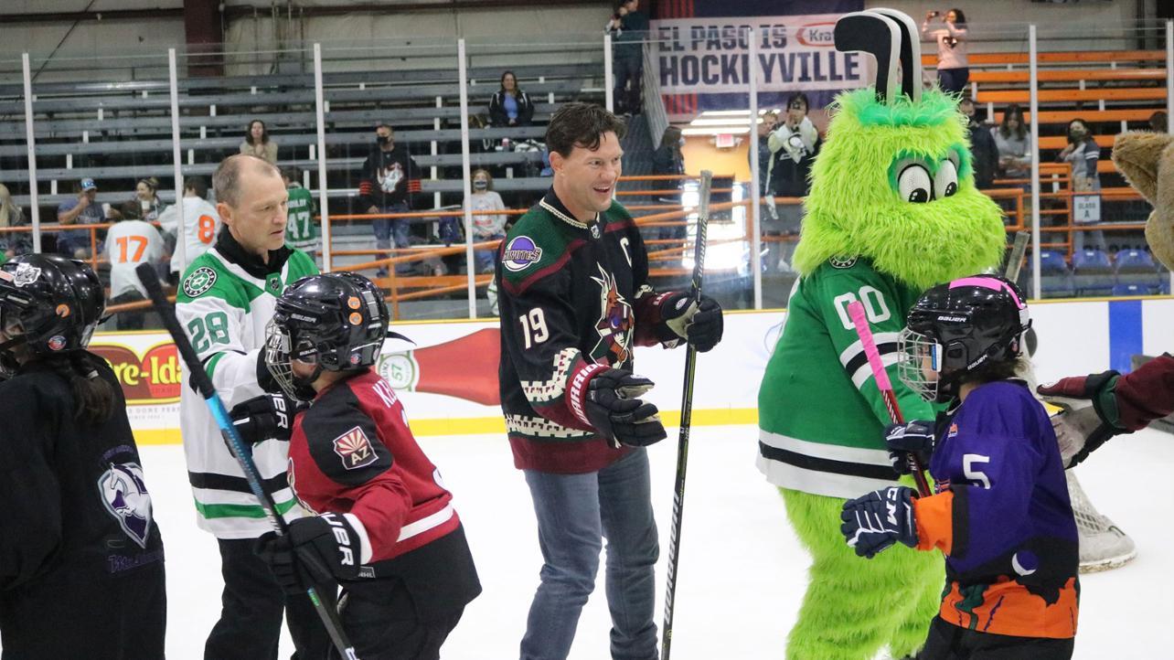 Hockeyville 2021 Dallas Stars v. Arizona Coyotes