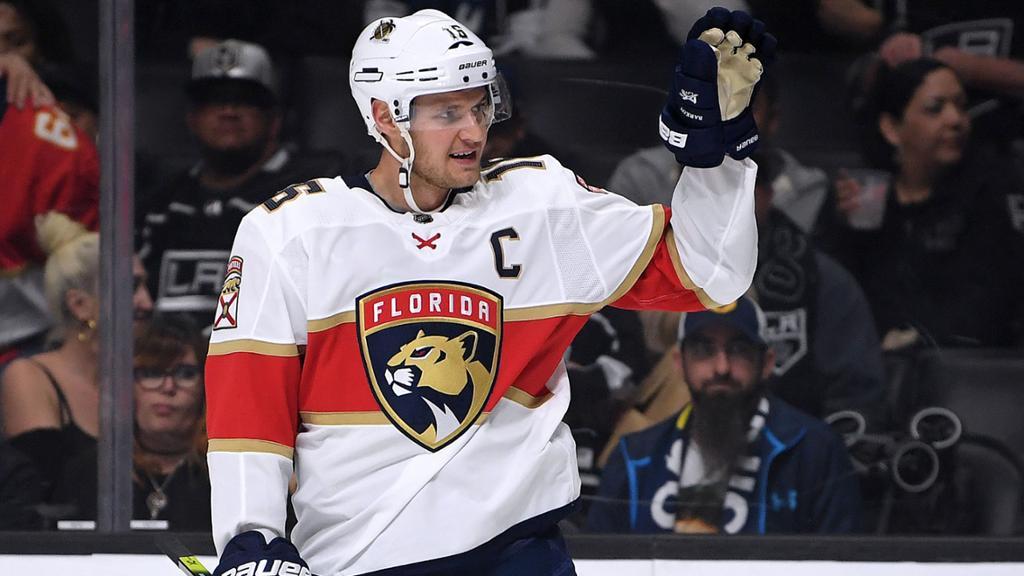 Aleksander Barkov skriver jättekontrakt med Florida Panthers