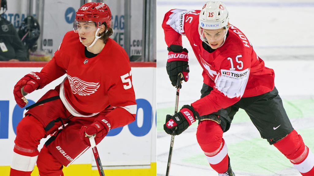 Seider und Hofmann gelingt Sprung in NHL-Kader | NHL.com