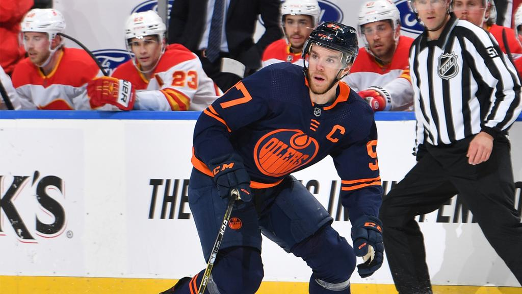 PROJECTED LINEUP: Oilers vs. Flames | NHL.com