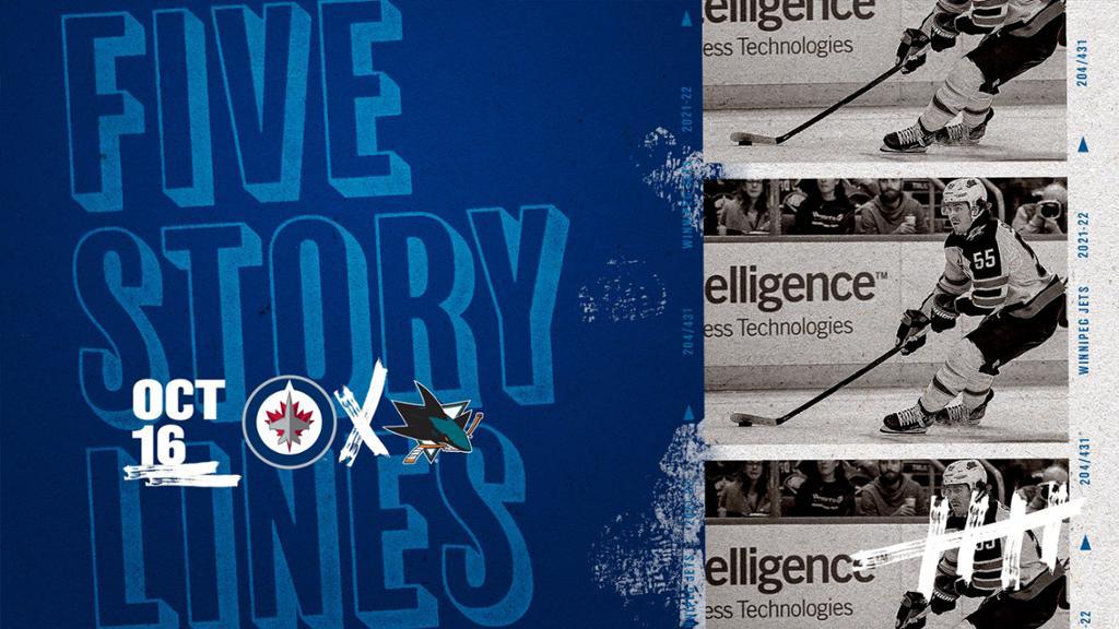 Thomas' Five Storylines - WPG @ SJ   NHL.com