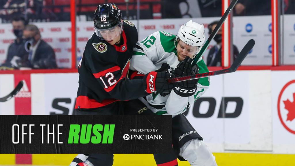 Recap: Late really isn't enough for the Stars, who fall 3-2 to Senators | NHL.com