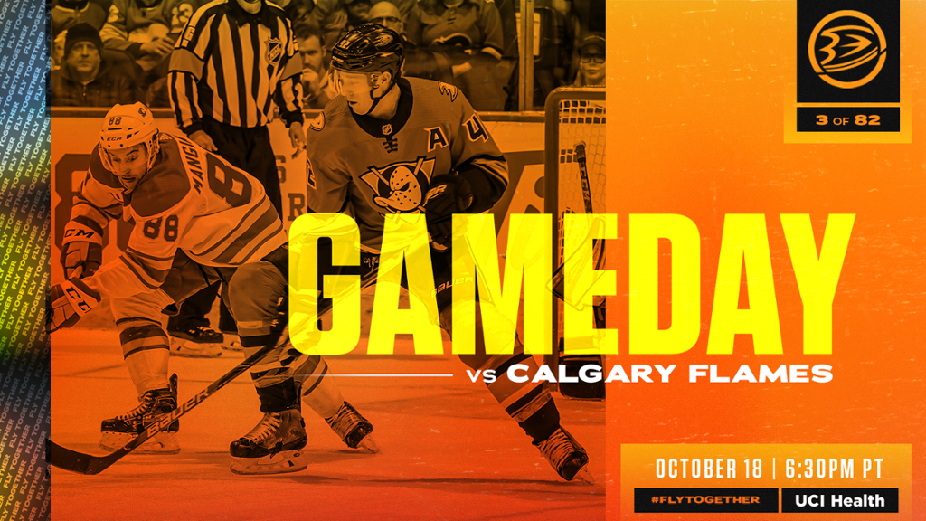 Preview: Ducks Open Four-Game Road Trip Tonight in Calgary