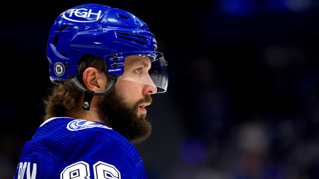 'Not a day-to-day thing': Kucherov forced to miss time with injury