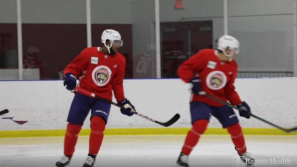 NOTEBOOK: Duclair Moves Up; Juolevi Joins Practice