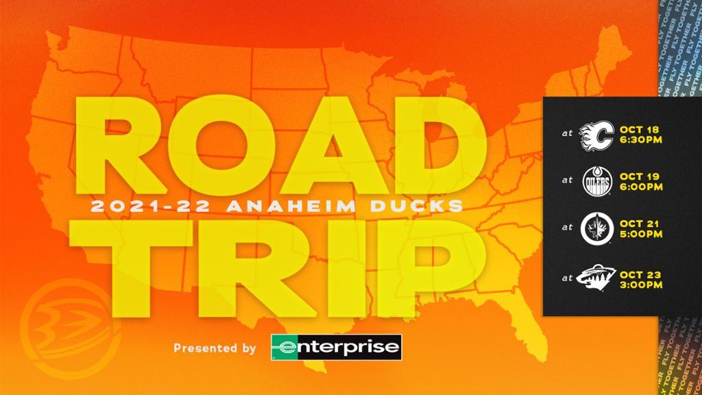 Enterprise Road Trip: Ducks Face Early-Season Four-Game Trek