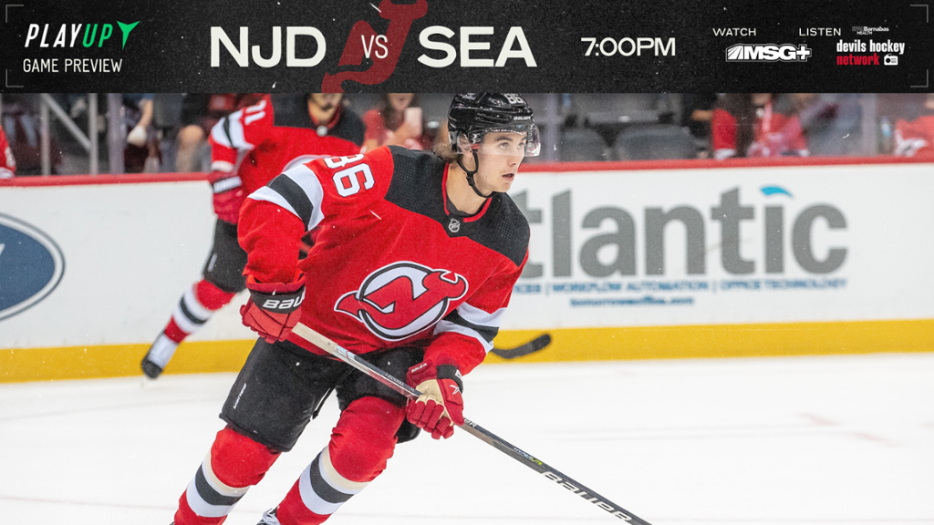 Devils Play First-Ever Game Against Seattle Franchise   PREVIEW
