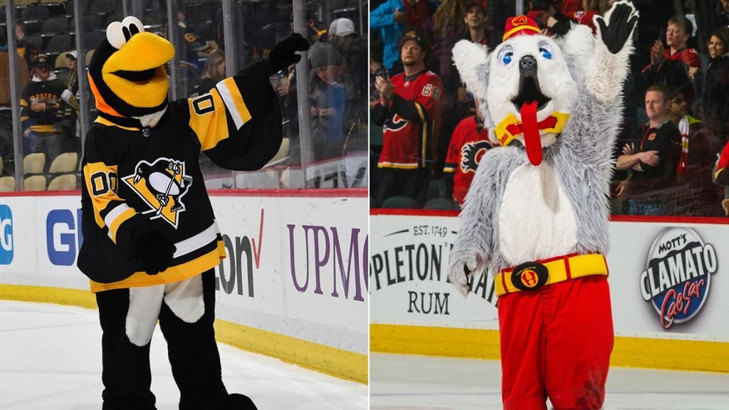 Penguins, Flames mascots need your Hall of Fame votes