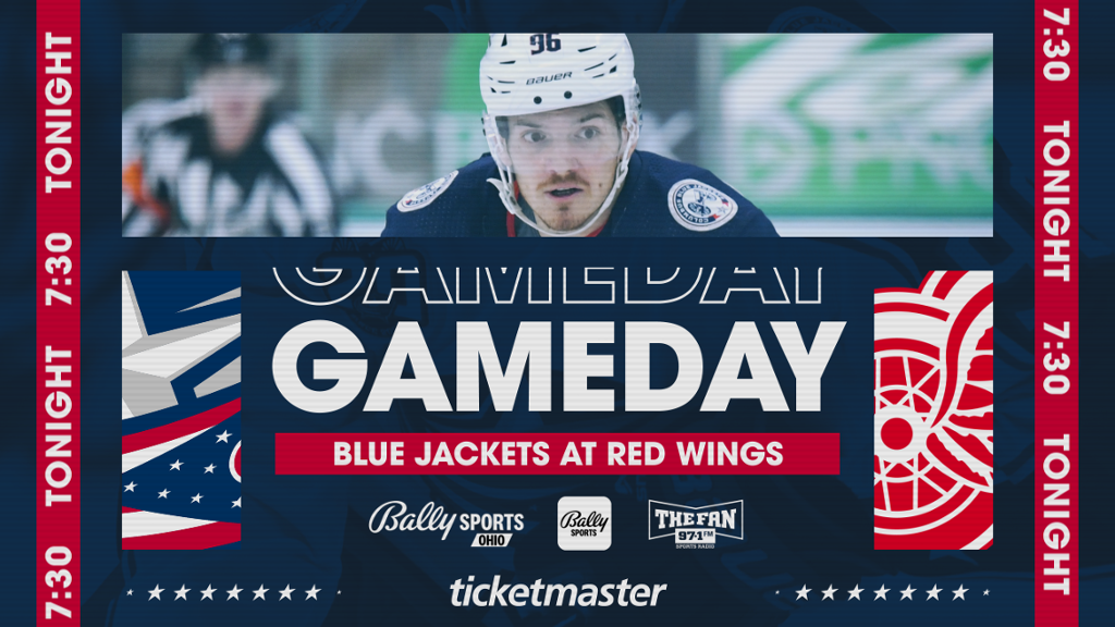 PREVIEW: Blue Jackets face first road game of season in Detroit